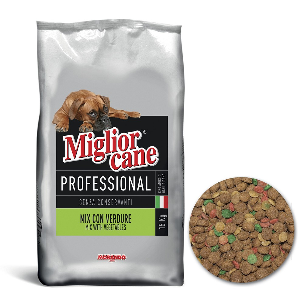 Miglior DOG Professional Vegetable mix, 15kg