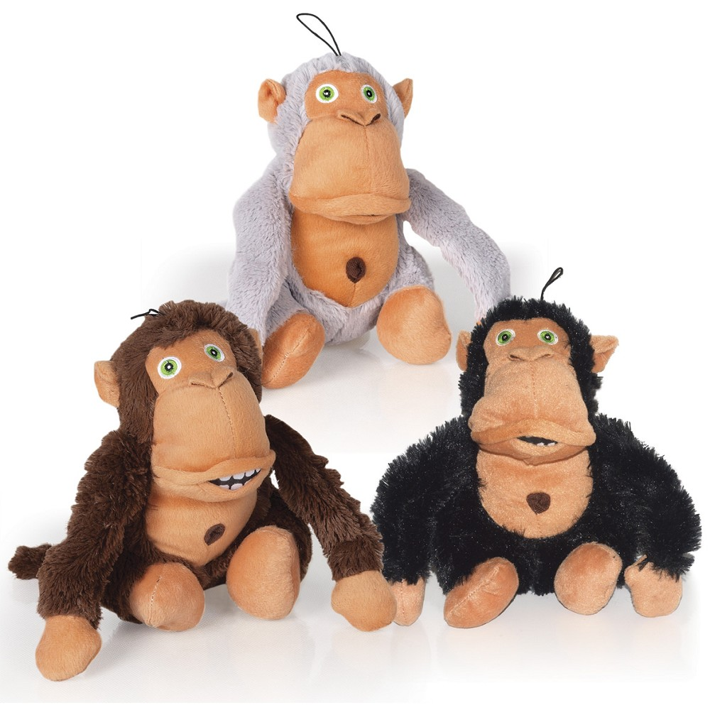 Crazy monkey - dog toy, 36cm