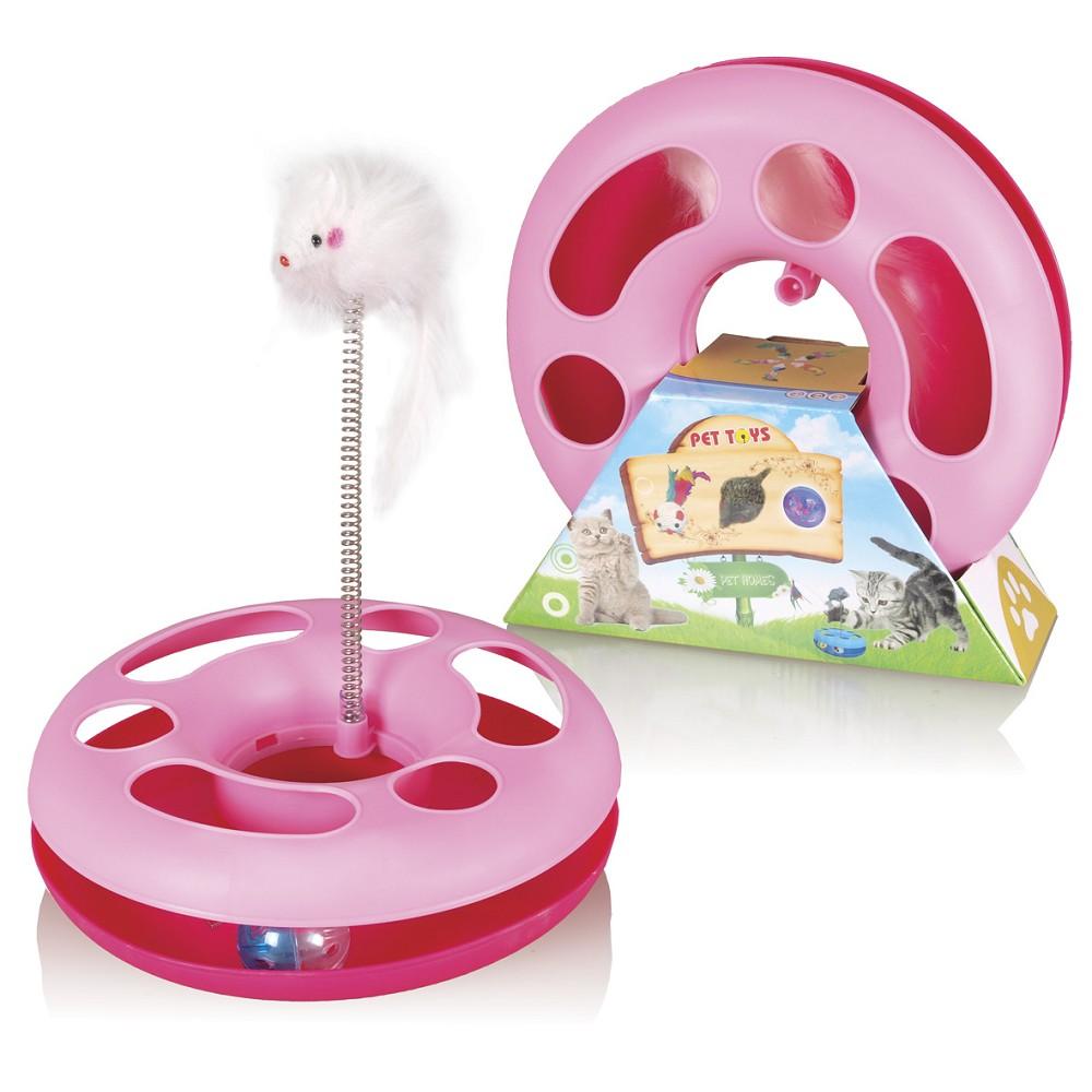 Speedy ball s myší na pružině