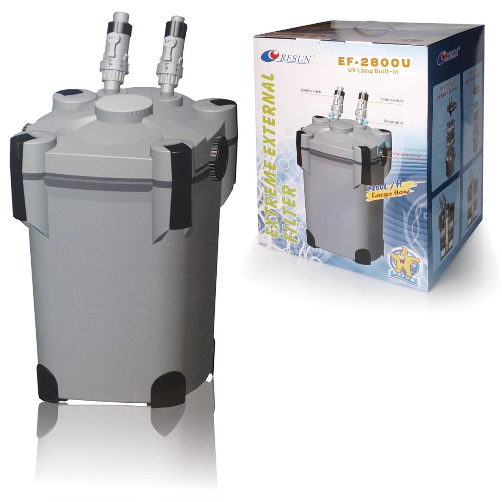 Externí filtr EF-2800U s UV lampu