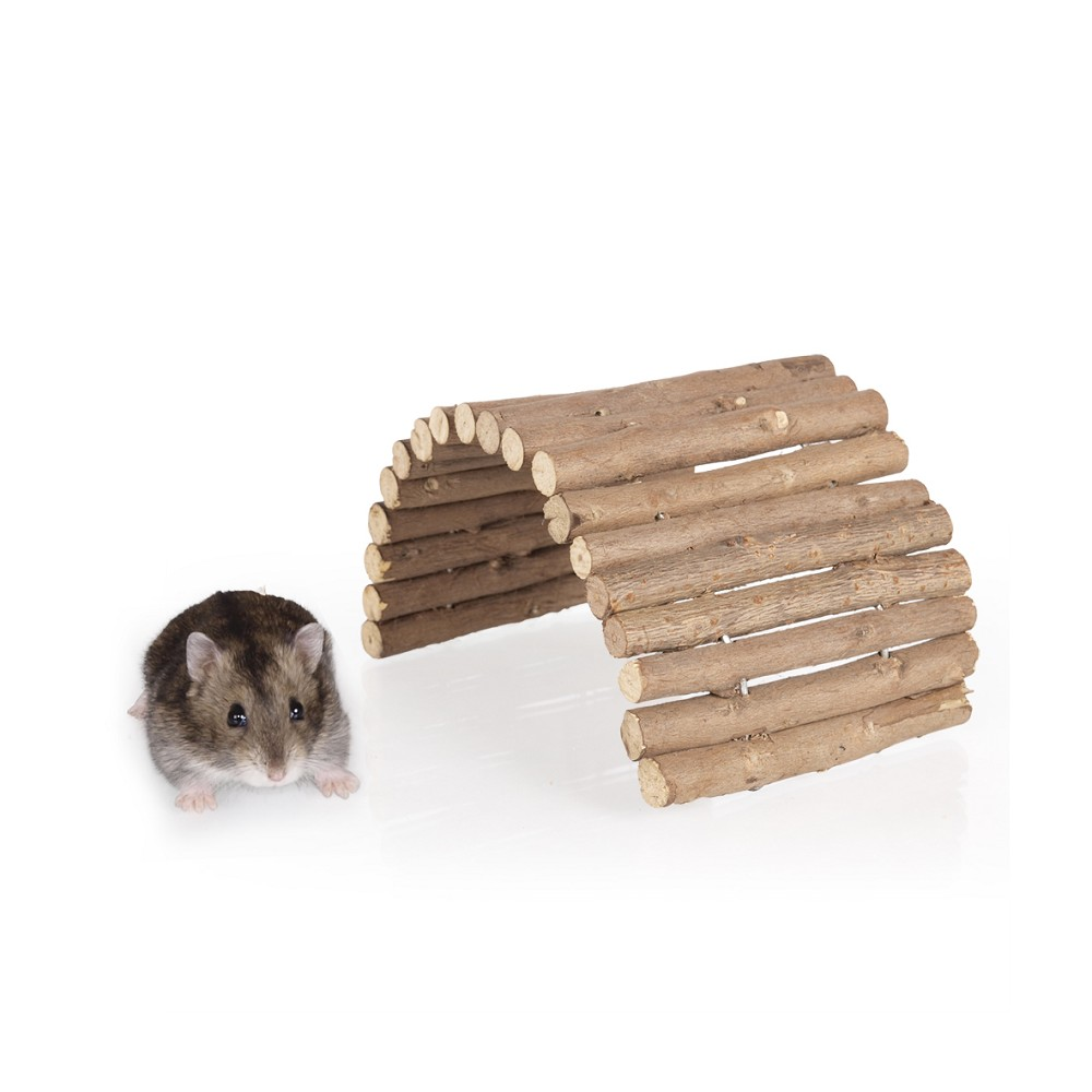 Dřevěný můstek, vel. S (kulatá dřívka)