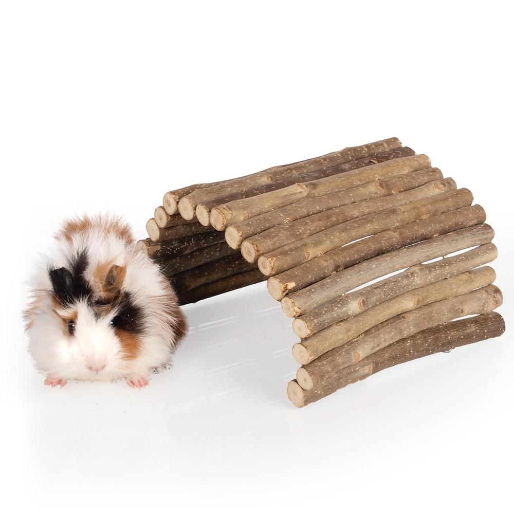 Dřevěný můstek, vel. M (kulatá dřívka)