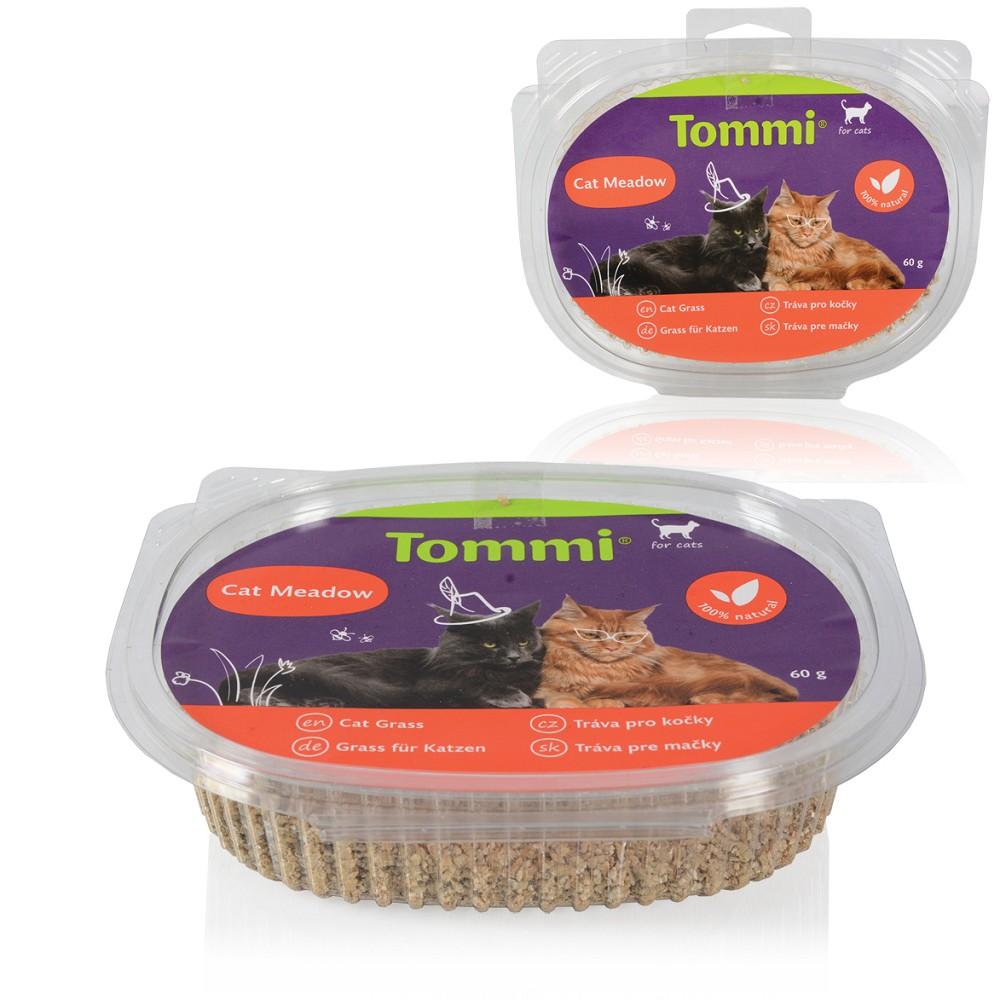 Tommi - tráva pro kočky, 60g