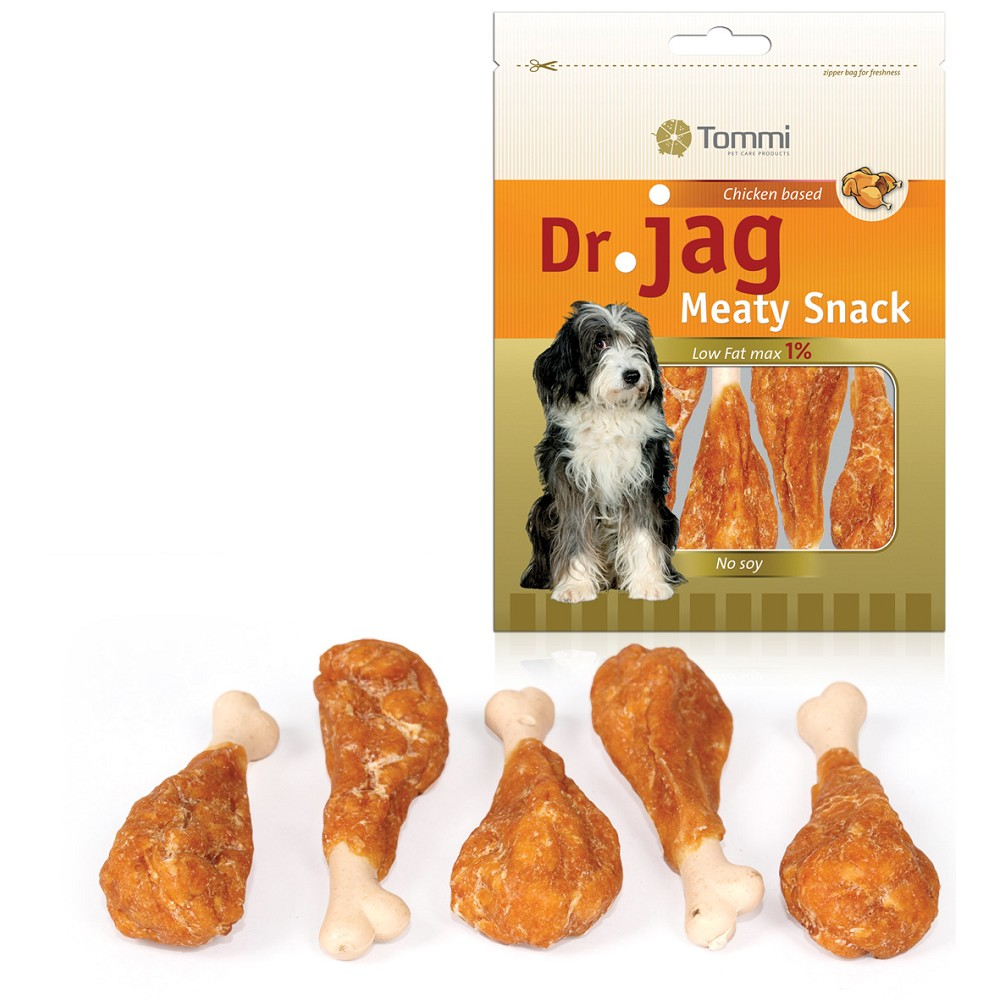 Dr. Jag Meaty Snack - Chicken legs, 70g