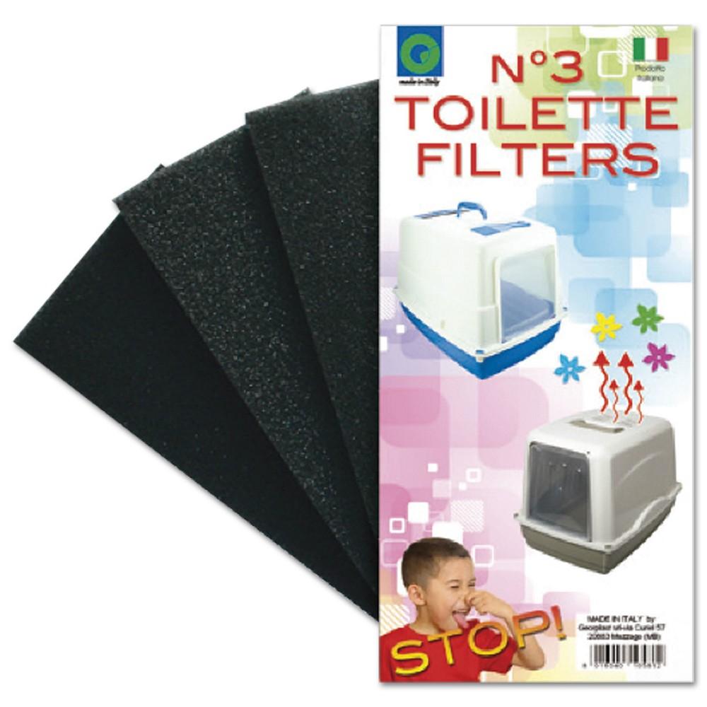 Filtr pro WC Vicky, 3ks