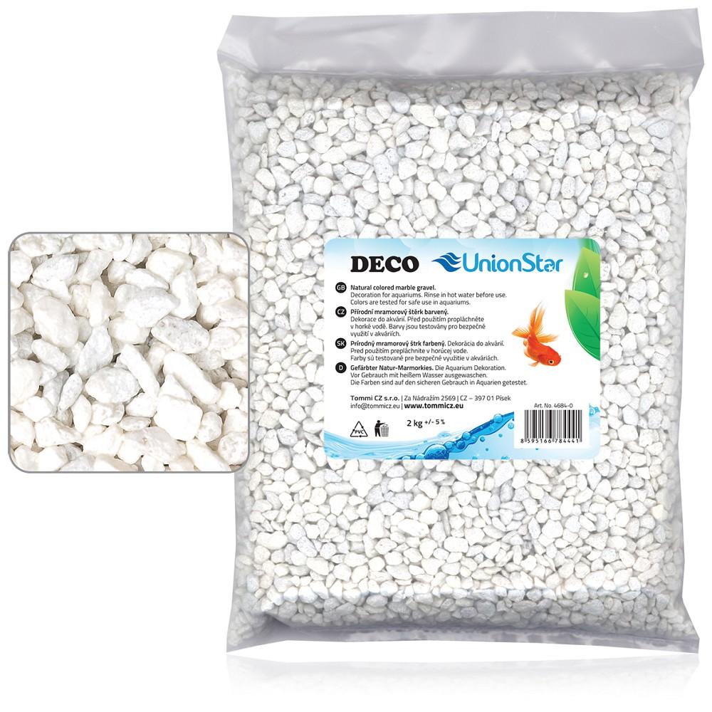 Akvarijní písek bílý 2kg DECO