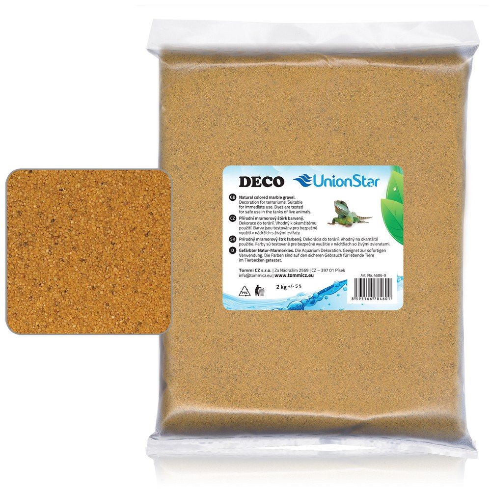 Terarijní písek sahara 2kg DECO