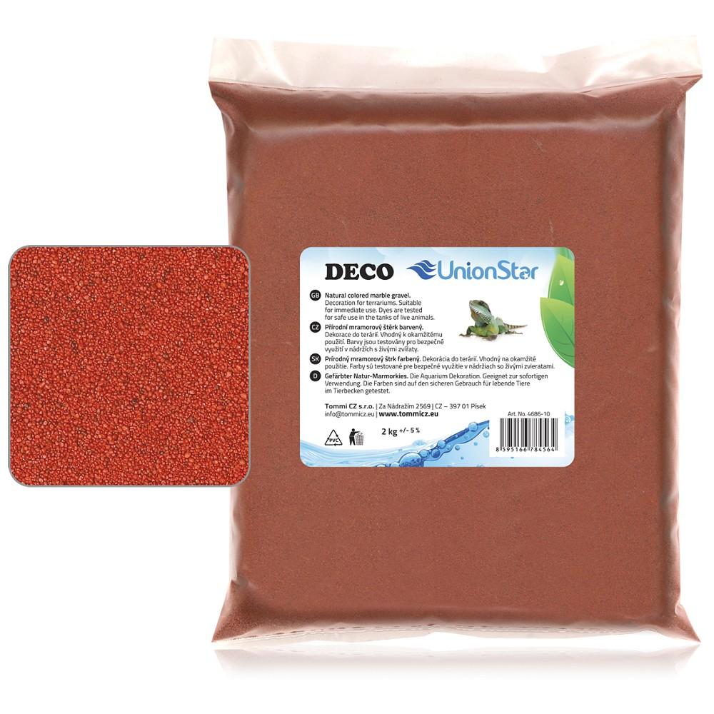 Terarijní písek terakota 2kg DECO