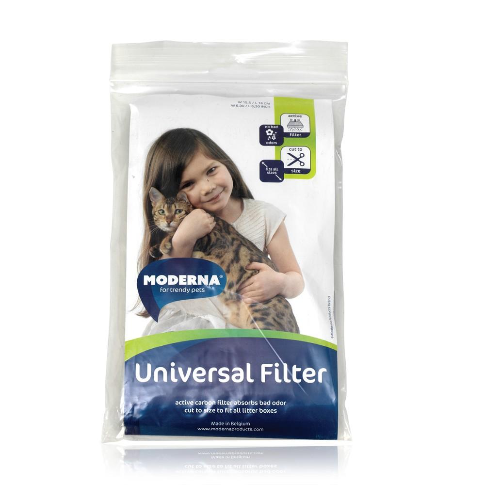 Univerzální filtr do toalet pro kočky