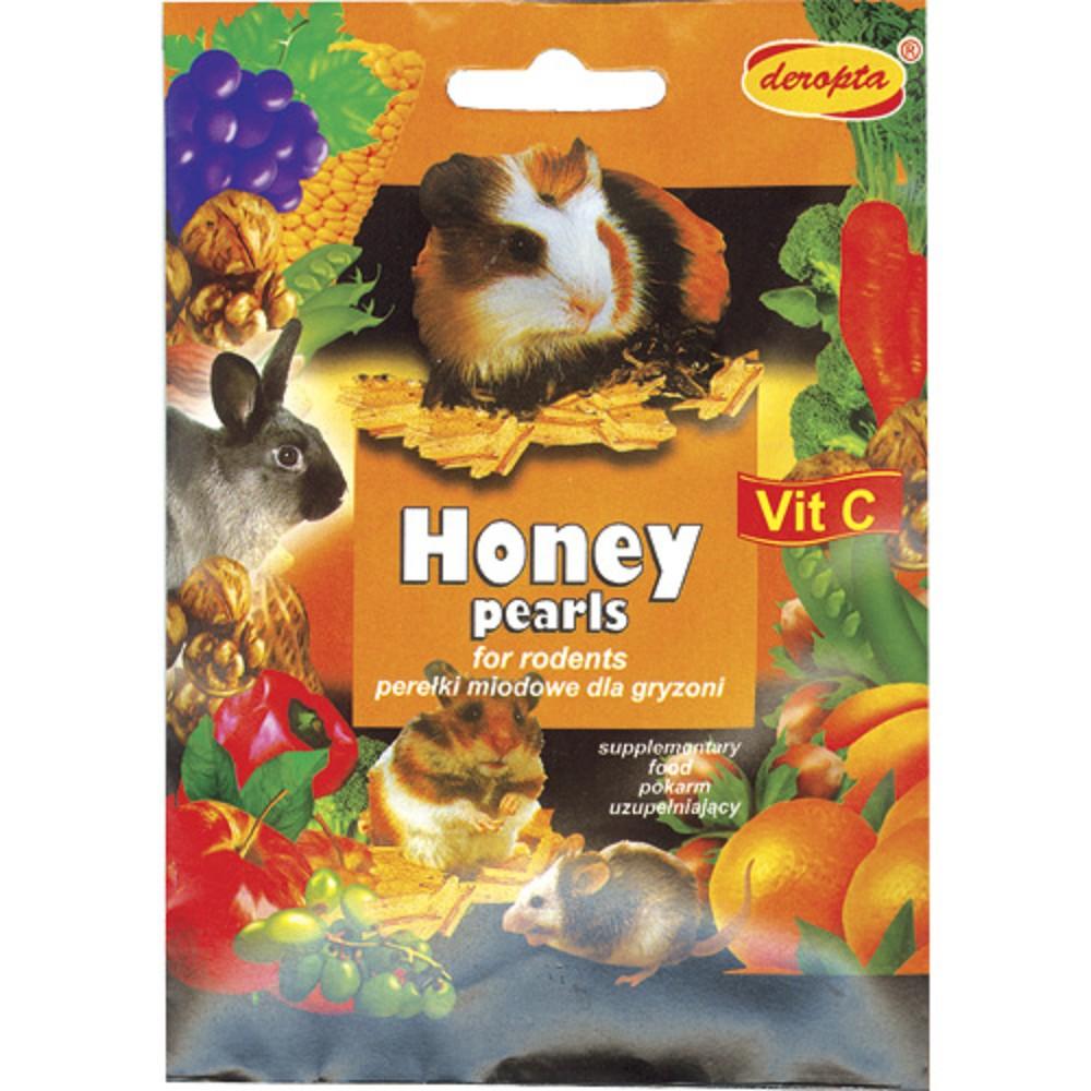 Honey Pearls pro hlodavce, 30g