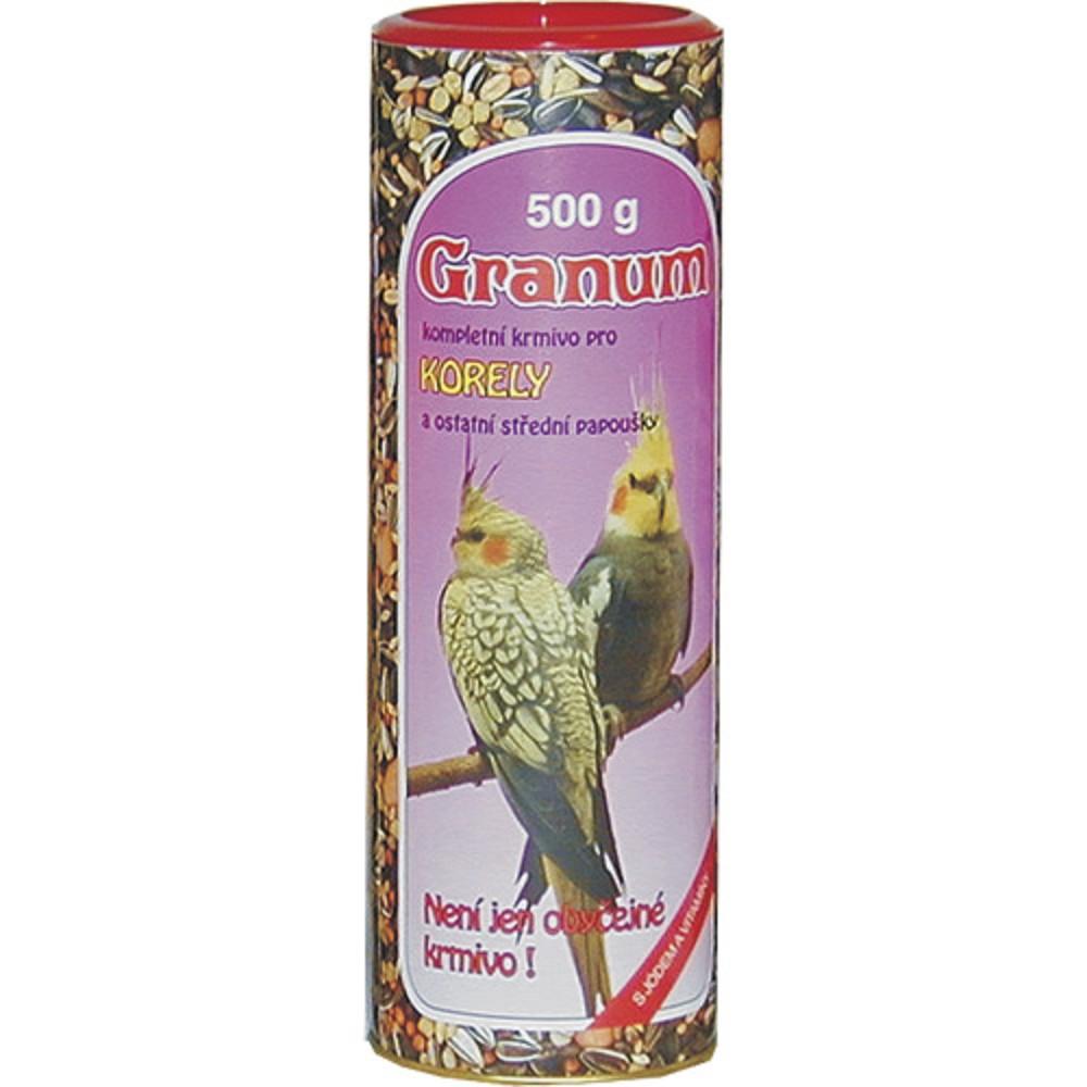 Granum - pro korely a st�edn� papou�ky, 500g