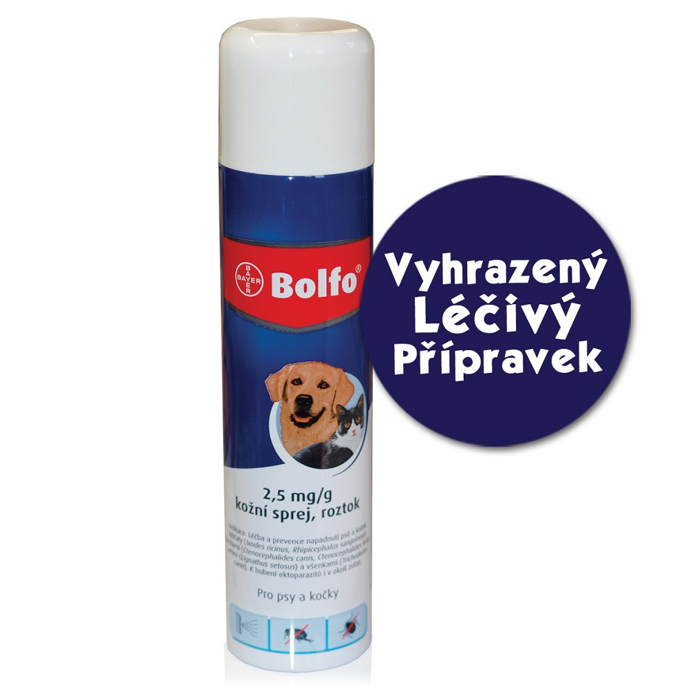 Bolfo spray, 250ml - VLP