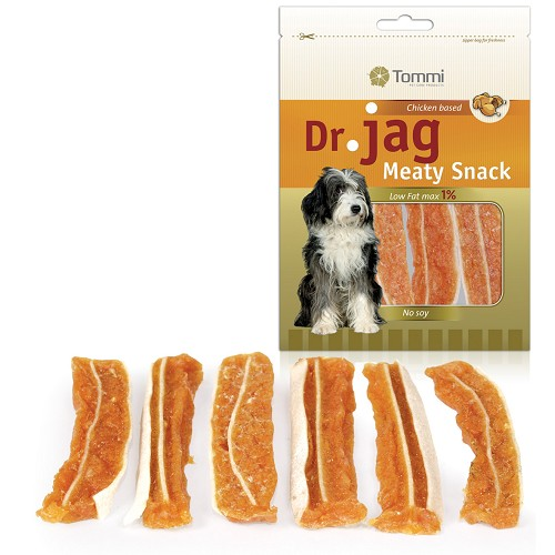 Dr.Jag Meaty Snack - Bacon strips, 70g