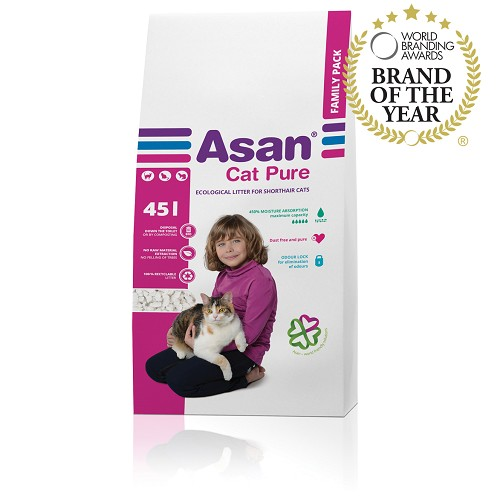 Asan Cat Pure Family, 45l