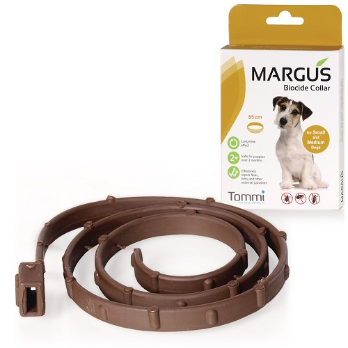 MARGUS Biocide Collar Dog S-M, 55cm