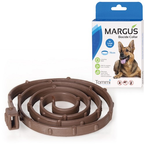 MARGUS Biocide Collar Dog L, 70cm