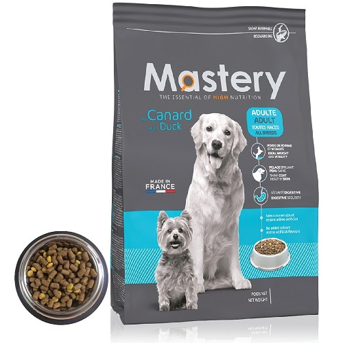 Mastery DOG Ad. with Duck 12kg