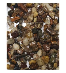 Písek akvarijní č.10 hnědý - jemný, 3kg