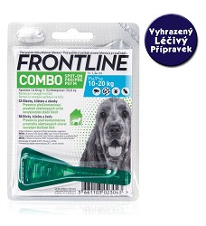 Frontline Combo spot-on dog M do 20 kg - VLP