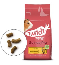 Wagg Guinea Pig Single Kibble 10 kg + 2 kg ZDARMA