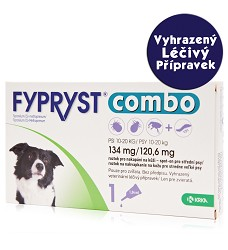 Fypryst Combo spot-on dog M do 20kg - VLP
