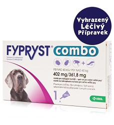 Fypryst Combo spot-on dog XL nad 40kg - VLP