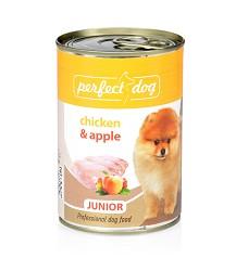 Perfect Dog Junior Chicken&Apple (kuře&jablka), 400g