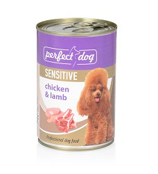 Perfect Dog Chicken&Lamb (SENSITIVE) 400g