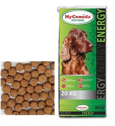 DUCK DOG My Comida Energy, 20kg + Pets Taste Hearts Mix zdarma