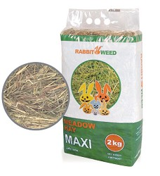 Rabbit Weed seno luční, 3 x 2kg, cena za 1ks