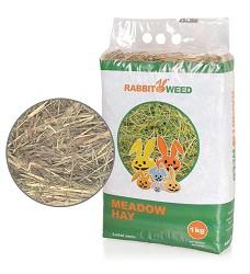 Rabbit Weed seno luční, 4x 1kg, cena za 1ks
