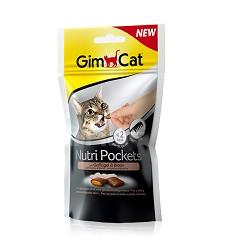 GIMCAT Nutri Pockets drůbež a biotin 60g