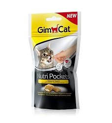 GIMCAT Nutri Pockets sýr a taurin 60g