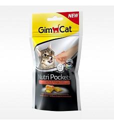 GIMCAT Nutri Pockets losos a omega 3 60g