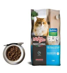 Mig.Nutribene kuřecí a telecí (STERILIZED) 1,5kg kočka