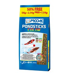 Prodac Pondsticks Color 5kg + 50% free