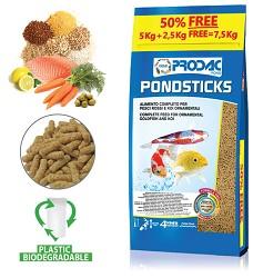 Prodac Pondsticks 5kg + 50% free