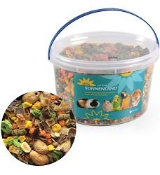 Sonnenland Nutty krmivo pro hlodavce 1,11kg, 3l