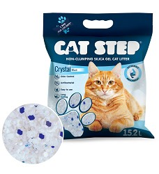 Cat Step Crystal Blue 6,68kg, 15,2l