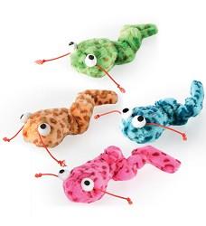 Červík vibrující, 17cm - hračka pro kočky