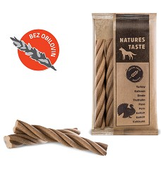Natures Taste GF Spirály Mini 5 ks (krůtí) 100g