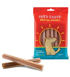 Pets Taste Dental Sticks 140g, EXS. 3/2021