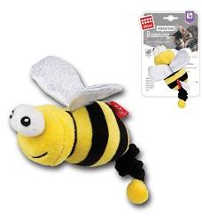 GiGwi Vibrating Running žlutá včela, catnip