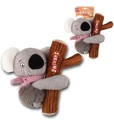 GiGwi Shaking Fun koala 2v1, pískací