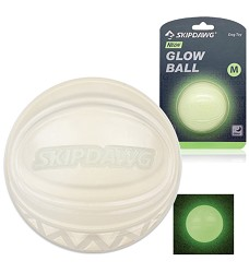 GiGwi Skipdawg Neon Glow Ball zářící míč