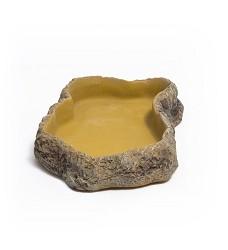 ReptiZoo Terarijní miska na krmivo M, 13,5x19,2x4cm