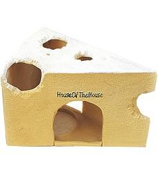 Domeček pro hlodavce - sýr